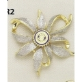 Frosted Flower Brooch